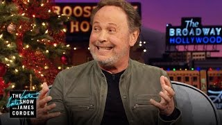 Billy Crystal Gives James GRAMMY Hosting Advice