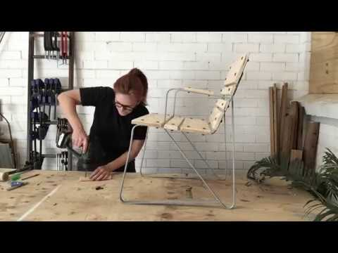 HOW TO DIY Revamp A Vintage Garden Chair