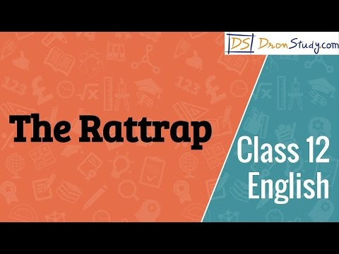 Class 12 English Flamingo Prose - The Rattrap