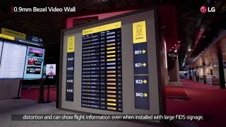 [ISE 2018]LG Booth #4 Airport Solution