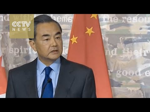 China's Foreign Minister berates Canadian reporter over human rights question