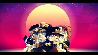 Synthwave Crusaders (Jotaro's Theme synthwave retro 80's remix)
