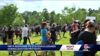 MBTA station closures trigger frustration