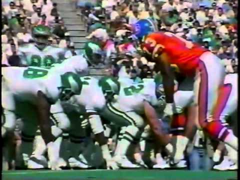 Week 3 1992 Eagles vs Broncos clip2