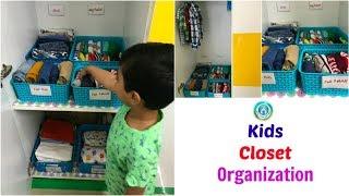 Kids Closet Organization |  Organize Kids Closet | Organizopedia