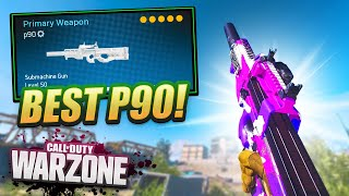 This P90 SLAYS in WARZONE! ft. Calfreezy & Tommey