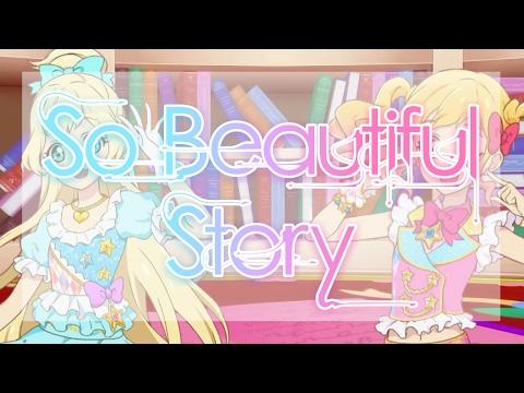 [FULL+LYRICS] Aikatsu Stars! - Yume & Hime - So Beautiful Story