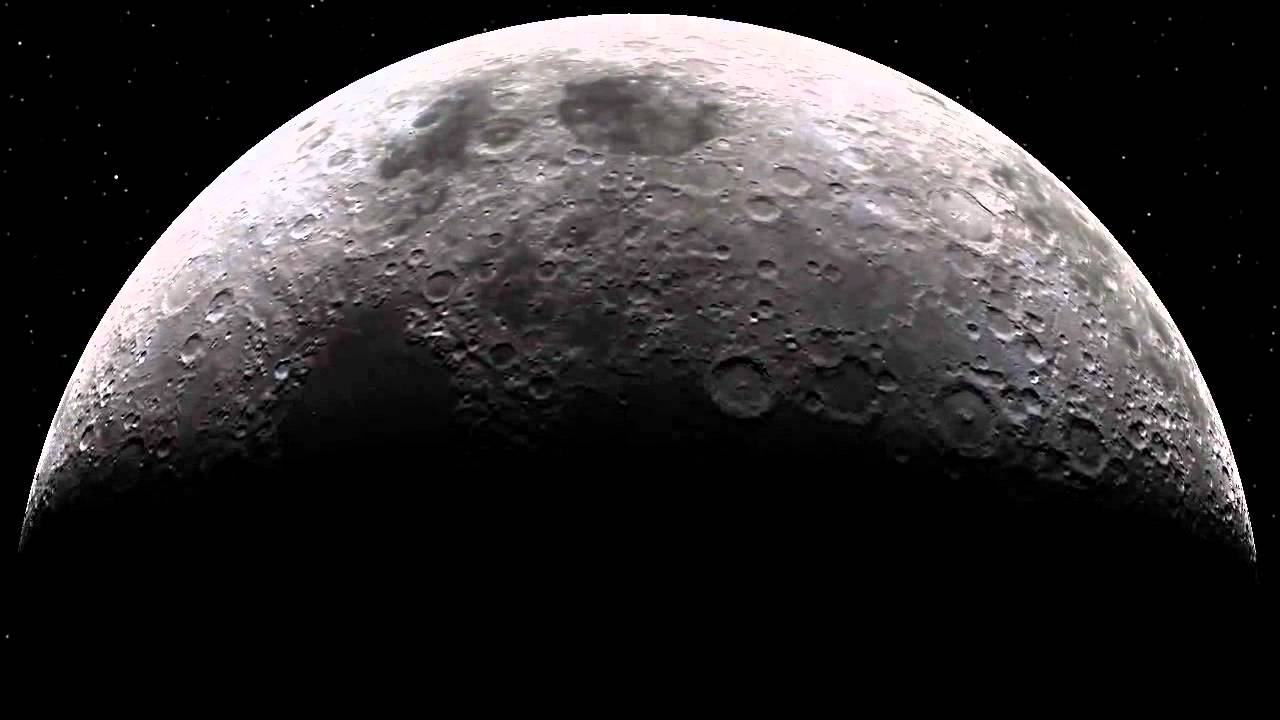 rotation of the moon - 1280×720