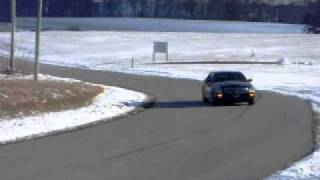 burnouts and sliding stsv 2006 cadillac suppercharged