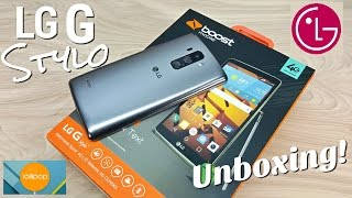 "LG G Stylo - [Hands On] - LG G4 Alternative - Boost Mobile - 1GB/8GB - 5.7"" HD - 4G LTE - 3000mAh"