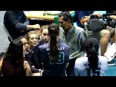Rainbow Wahine Volleyball 2016 - #6 Hawaii Vs Kansas State