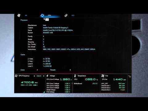 ASUS AI Suite III, RamDisk & Mem TweakIt Software Overview