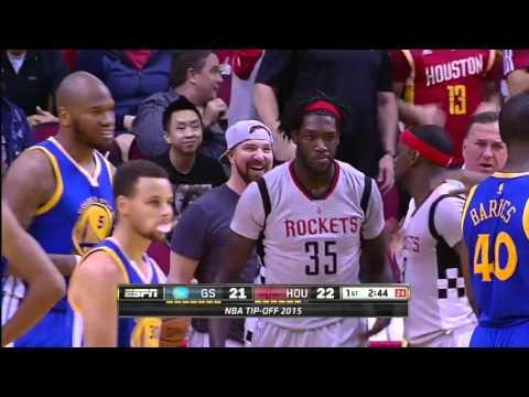 Golden State Warriors vs Houston Rockets | October 30, 2015 | NBA 2015-16 Season