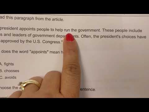 Ela assessment- President of the United States