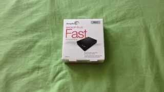 New Seagate Backup Plus Fast Unboxing (4TB edition)
