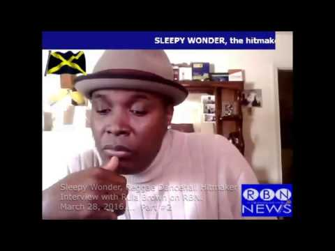 SLEEPY WONDER Interview with Rula Brown Talk Dancehall History and Queen Majesty Part 2