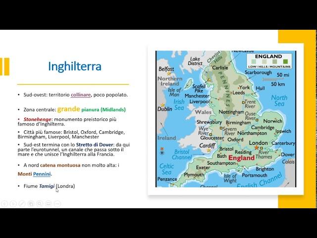 Cartina Geografica Fisica Della Gran Bretagna.Geografia Il Regno Unito Didattica A Distanza Youtube