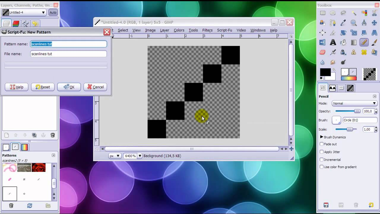 how to make scanlines in gimp youtube