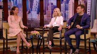 Alicia Vikander Teaches Kelly & Ryan Swedish Phrases