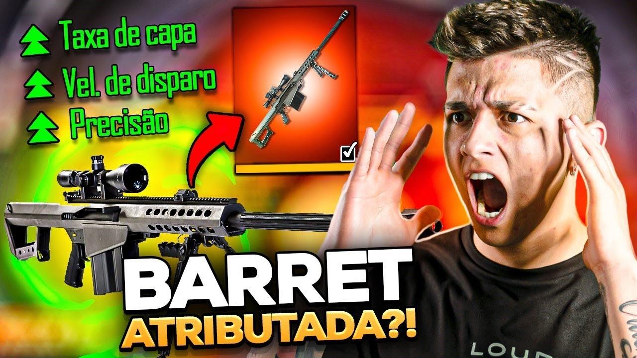 MINHA BARRET DEVE TÁ ATRIBUTADA!!!