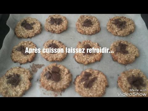 biscuits-chocolat-flocons-d'avoine-weight-watchers
