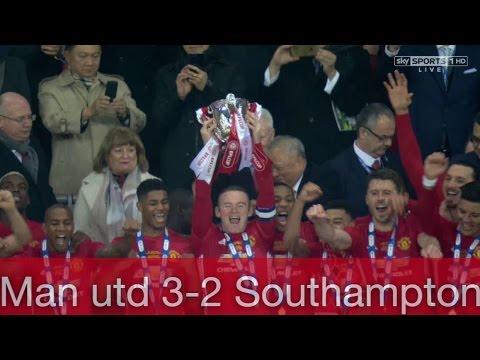 Download Man Utd 3-2 Southampton    All Highlights & Goals   EFL Final Cup   26/2/2017