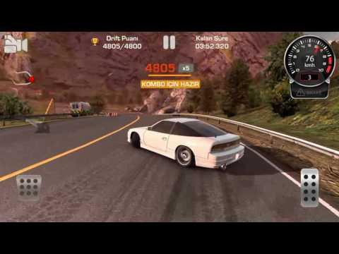 CAR X DRİFT RACİNG--MOUNTAİN DRİFT--NİSSAN 180SX--BEST SCORE