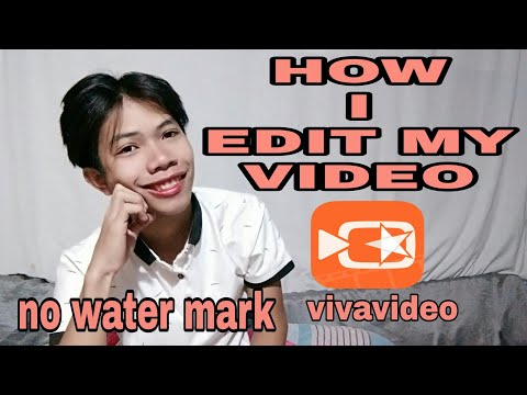How I Edit My Youtube Video Using Viva Video❤