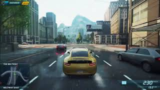 Need for Speed™ Most Wanted 2013:Porsche 911 Carrera S Top Speed!!!