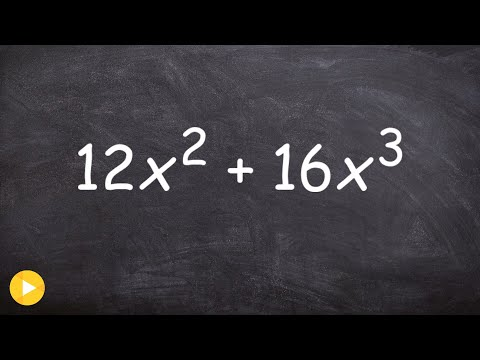 How to factor out the GCF of a binomial