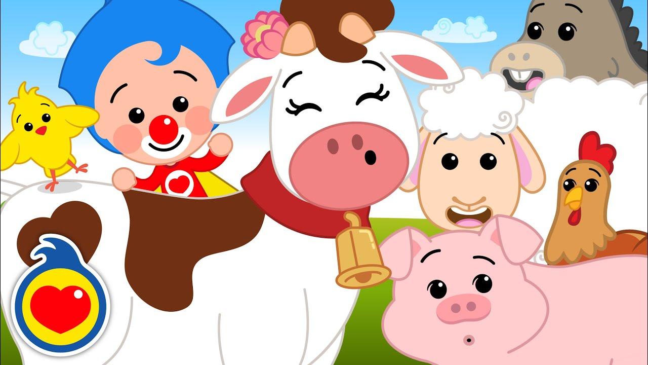 Como Los Animalitos 2 ♫ Canciones Infantiles ♫ Plim Plim