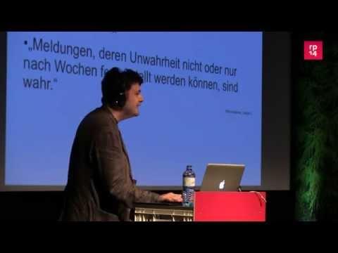 re:publica 2014 - Torsten Kleinz: Geschäftsmodell der Z... on YouTube