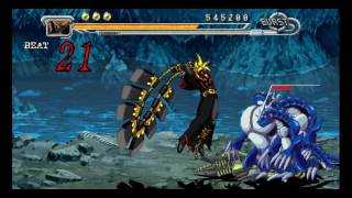 Guilty Gear Judgment (PSP) Boss: Judgment gameplay.