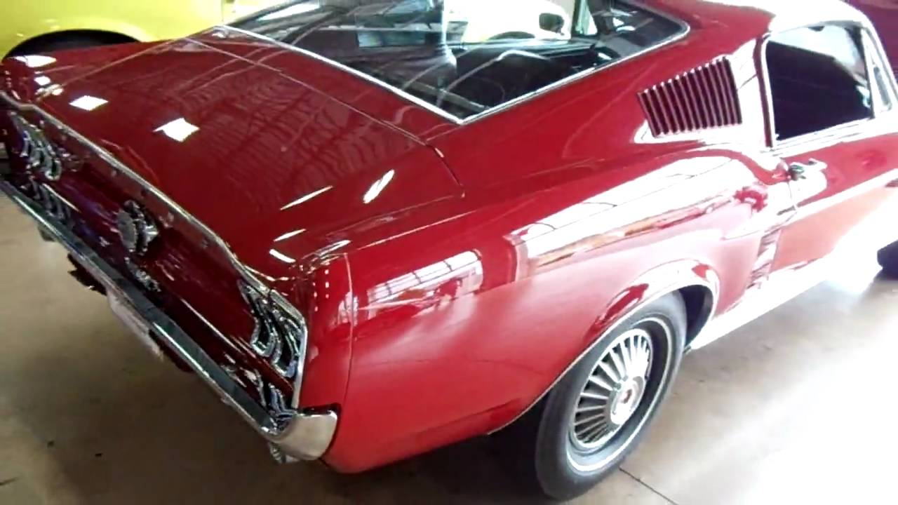 1967 Ford Mustang Gt 390 Fastback Rare S Code With A Top Loader