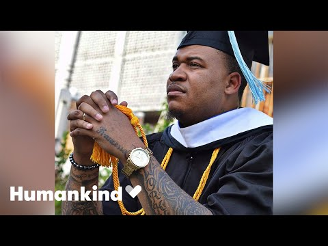 Doctor cries seeing diploma after turning life around | Humankind