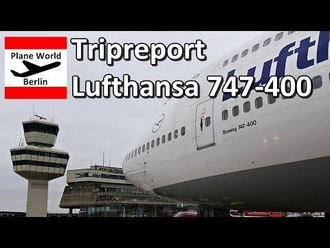 Trip Report | Lufthansa Boeing 747-400 | Premium Eco | TXL - FRA