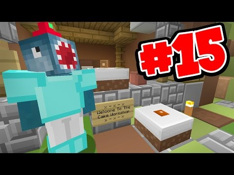 Minecraft Xbox - ISLANDS OF EDEN 2! - THE CAKE WORKSHOP!! [15]