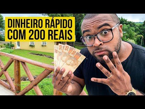 4 IDEIAS PARA GANHAR DINHEIRO RÁPIDO COM R$200 || TIAGO FONSECA