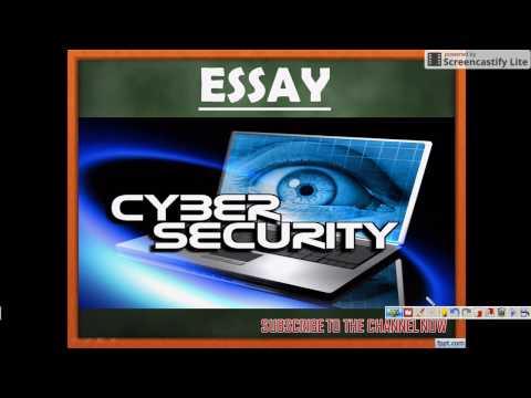 ESSAY on CYBER SECURITY - SSC CGL TIER III
