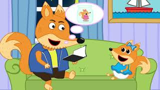 Fox Family and Friends new funny cartoon for Kids Full Episode #292