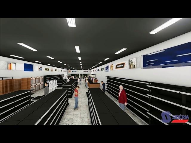 Projeto 3D - Material de Construção Bigossi - Grupo Sibéria