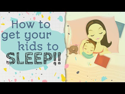 Bed Time Routine Do's and Dont's on How To Get Your Kids To Sleep At Night.