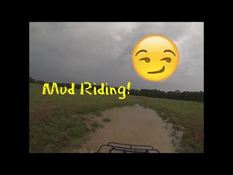 ATV Mud Riding on the Farm!