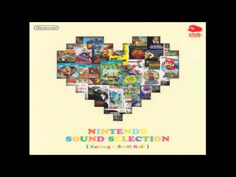 NINTENDO SOUND SELECTION Disk 2 (Ending Staff Roll)