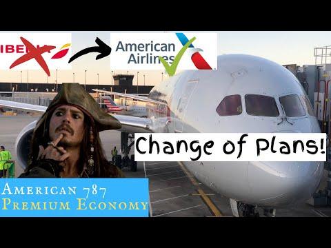 American 787 PREMIUM ECONOMY: Change Of Plans, Guys!
