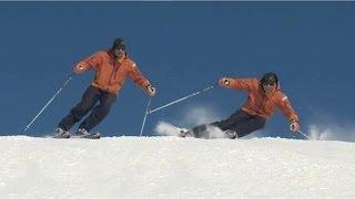 Урок 21 - Скорость, положение корпуса и ног в горных лыжах