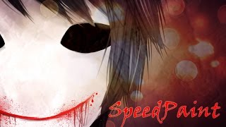 SpeedPaint  Creepypasta| Bloody Painter