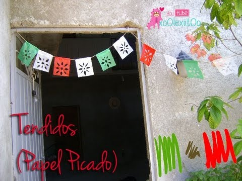 At Xoolexiitoo Tendidos Papel Picado Adorno Para Fiestas Patrias