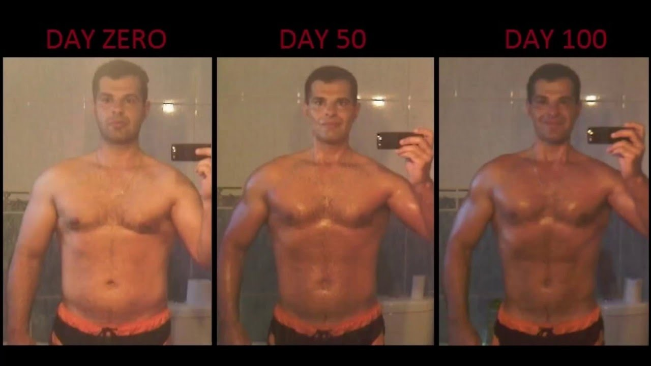 Extreme 5 Months Natural Body Transformation 35 Y O From Fat To Athletic With 20 Min Daily Training You