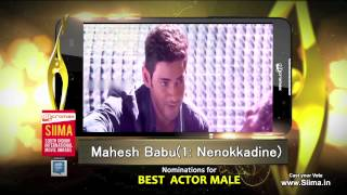 Micromax SIIMA 2015 | Nomination for Best Actor...